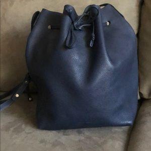 Mansur Gavriel tumble leather bucket bag